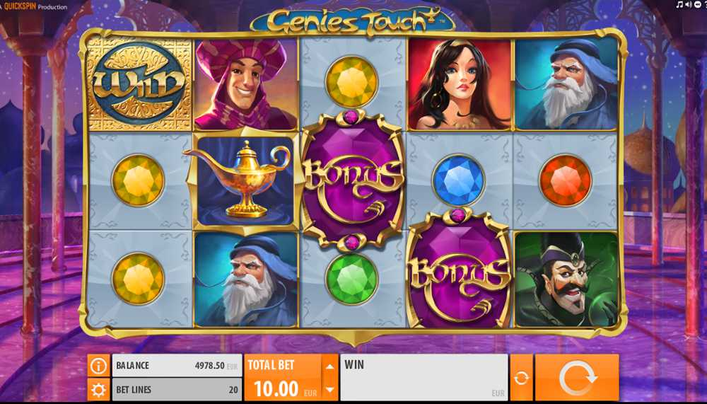Genies Touch Video Slot