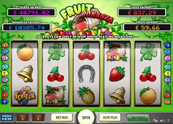 Fruit Bonanza Slot Review