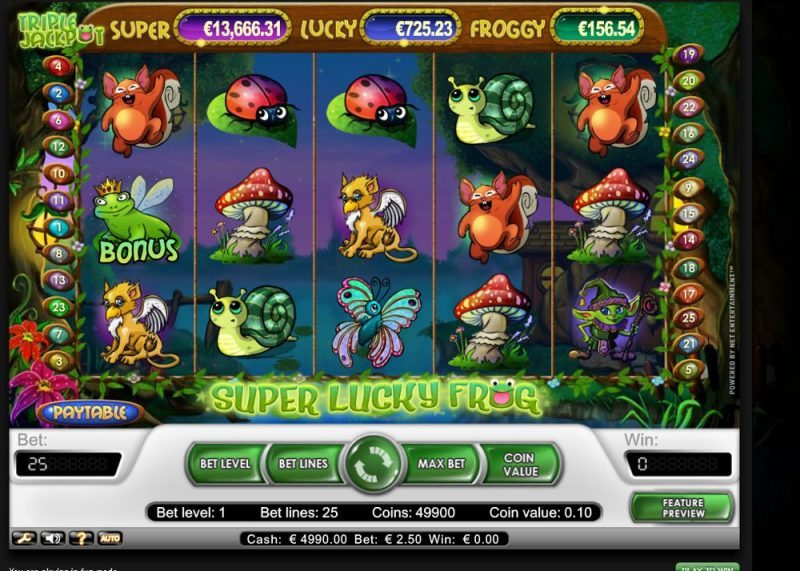 Super Lucky Frog Slot