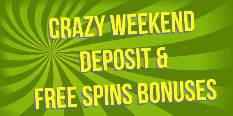 Join the Weekend Excitement with Free Spins & Bonuses