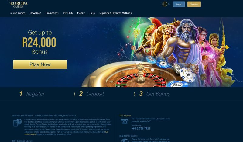 europa online casino south africa