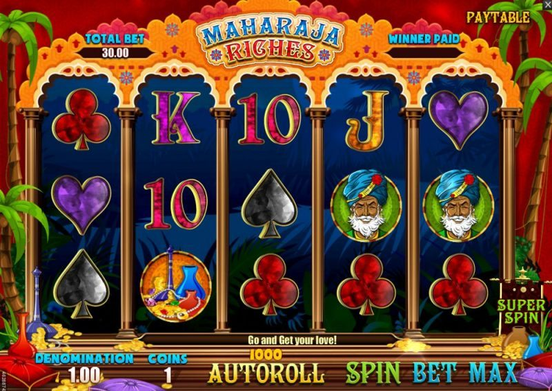 Maharaja Riches Video Slot Review