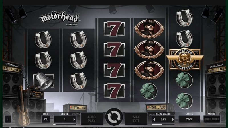 Motorhead Video Slot Review