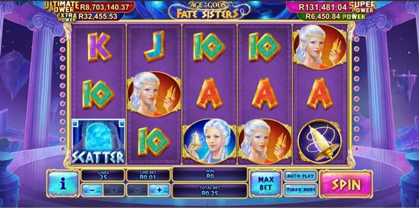 Play Age Of The Gods: Fate Sisters slots at Casino.com South Africa