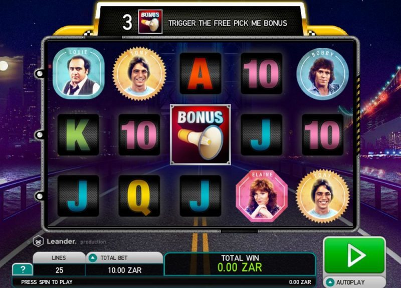 Taxi Video Slot Review
