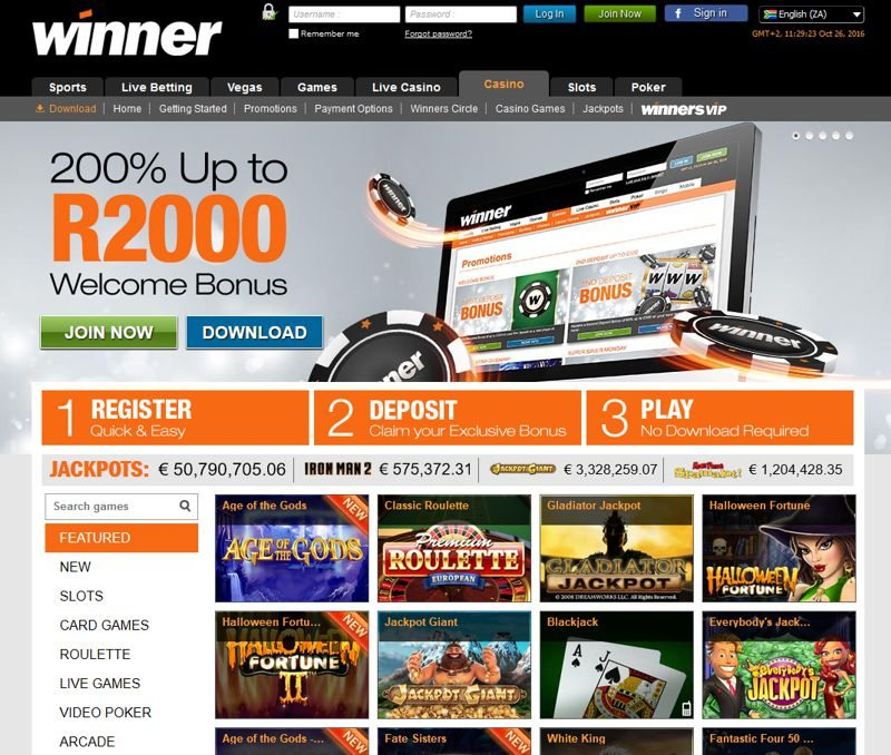 online casino winner europe entertainment ltd
