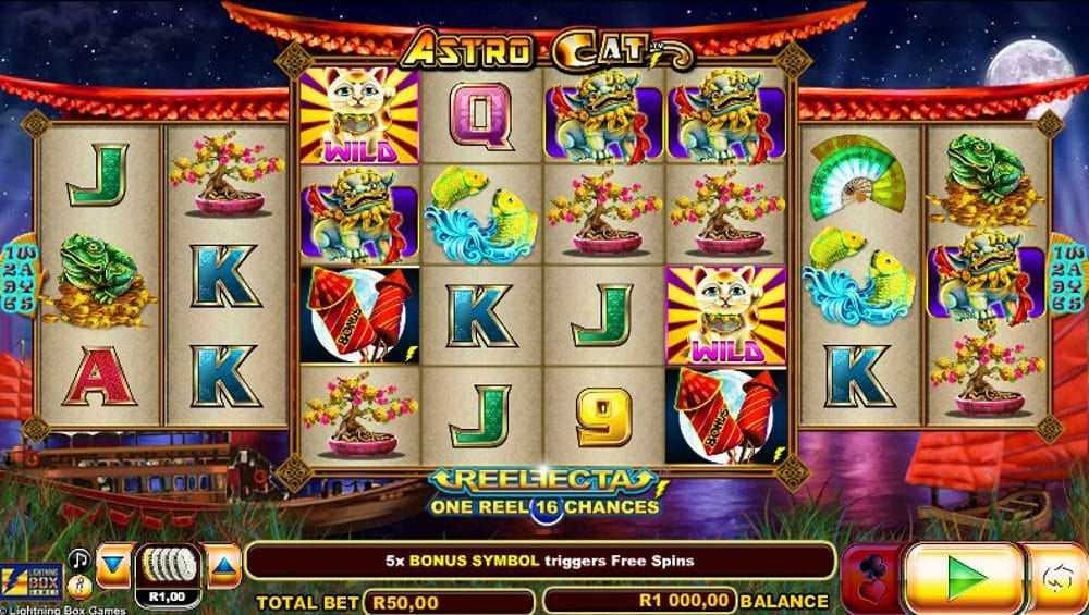 Astro Cat Video Slot Review