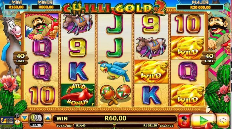 Chilli Gold 2 Video Slot Review