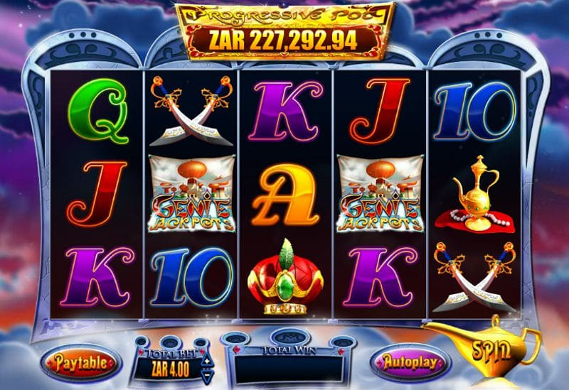 Genie Jackpots Video Slot Review