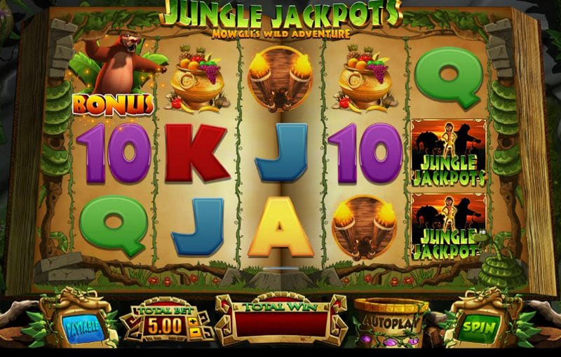 Jungle Jackpots: Mowgli's Wild Adventure Slot Review