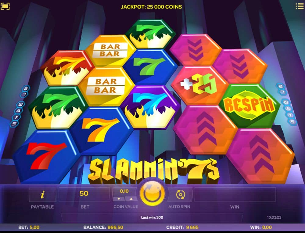 Slammin' 7s Slot Review