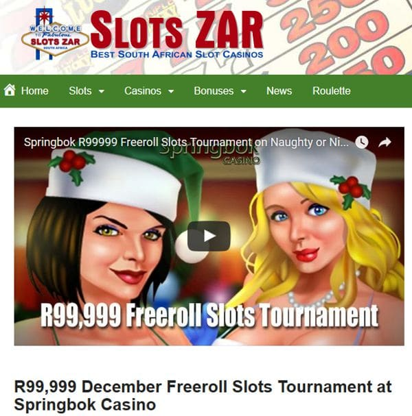 Springbok Casino Freeroll