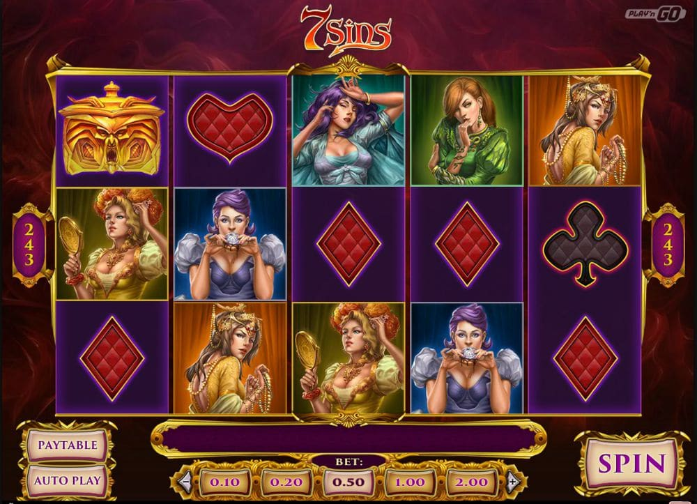 A Slot Game For Sinners – 7 Sins Slot Review