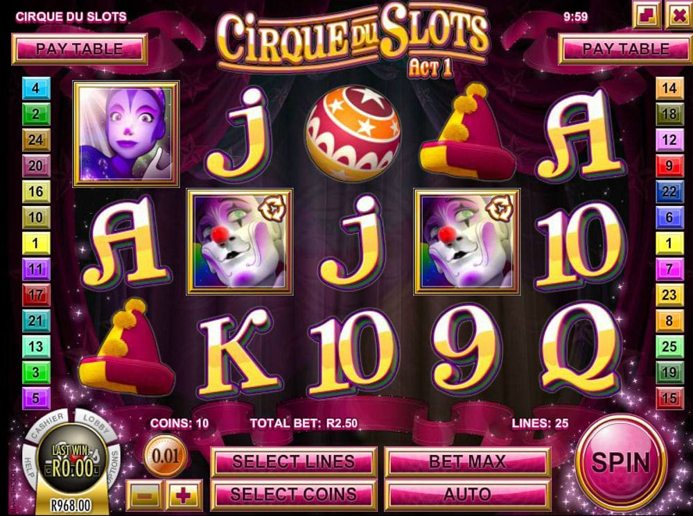 Cirque Du Slots Slot Review