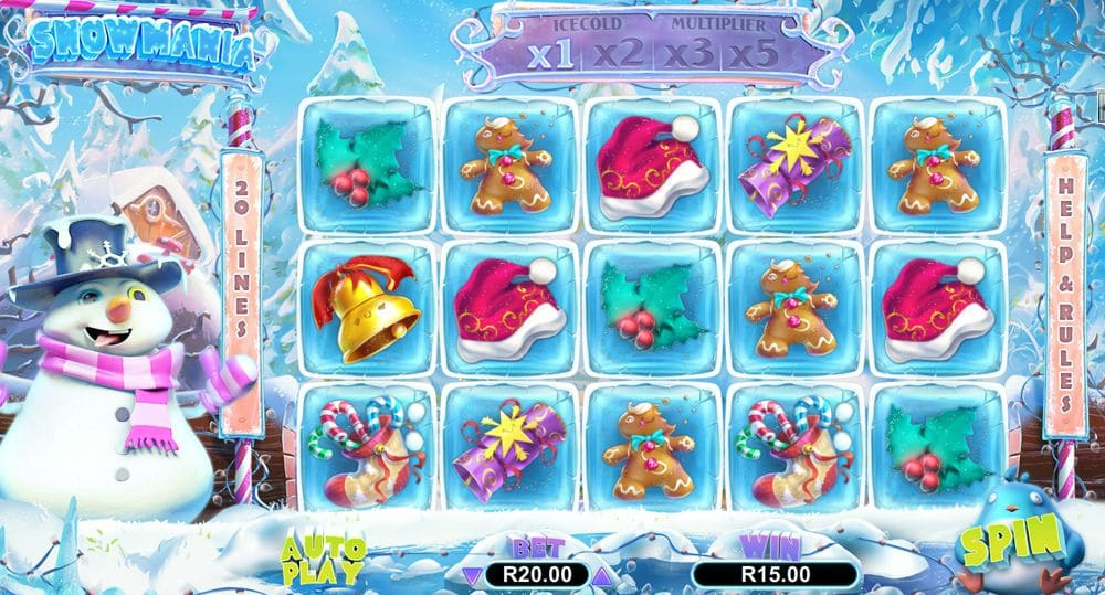 Have Fun Playing the New Snowmania Video Slot