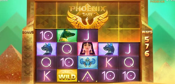 Phoenix Sun Video Slot by Quickspin