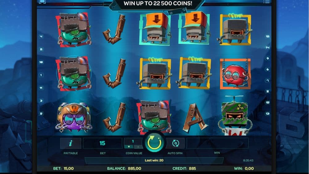 Robo Smash Video Slot Review