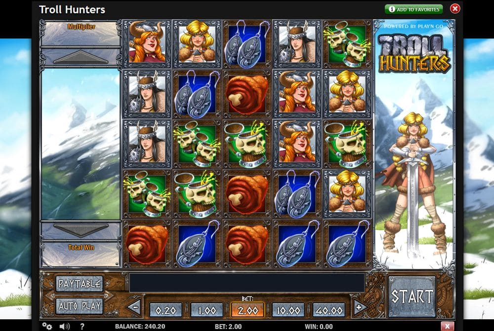 Troll Hunters Slot Game by Play'nGo