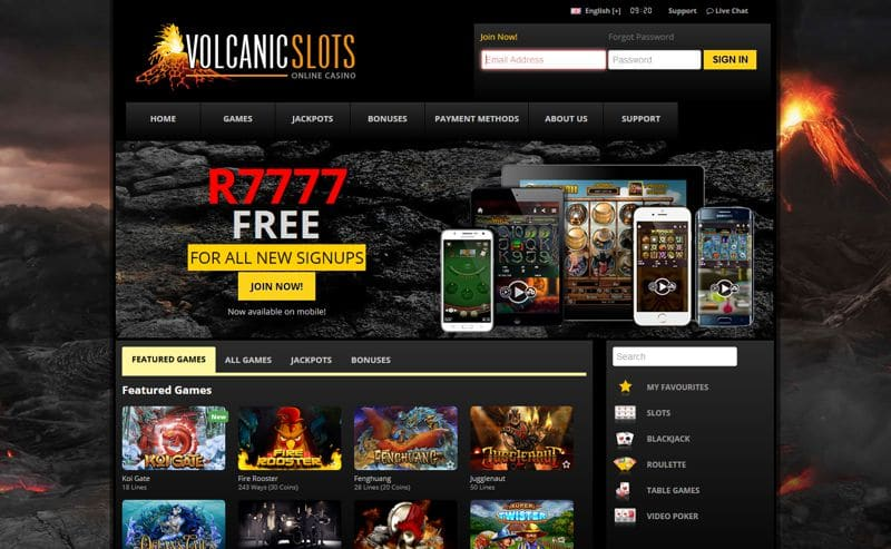 Volcanic Slots Casino is Back!