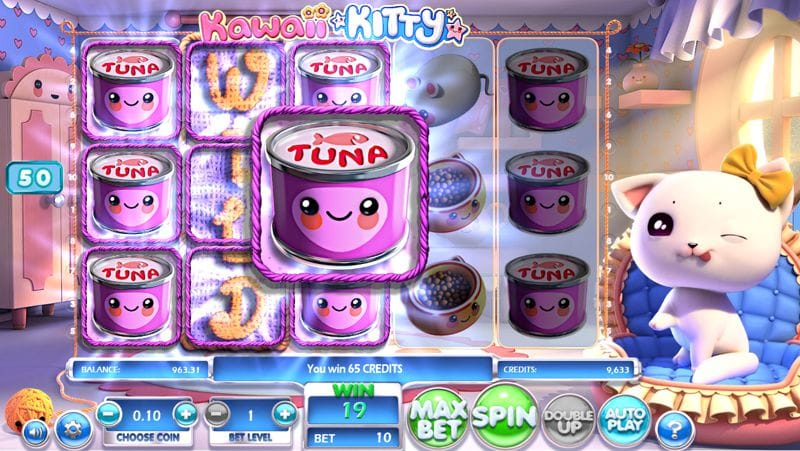 Kawaii Kitty Video Slot by BetSoft Gaming