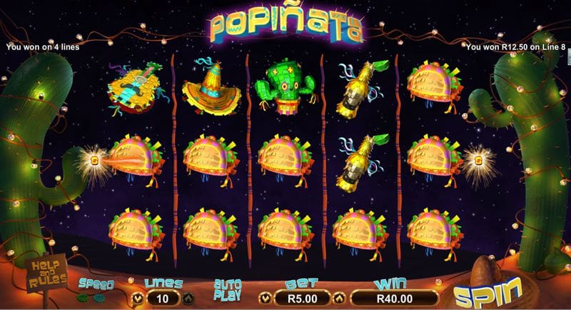 Popinata Video Slot