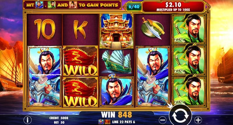 3 Kingdoms – Battle of Red Cliffs Slot Review