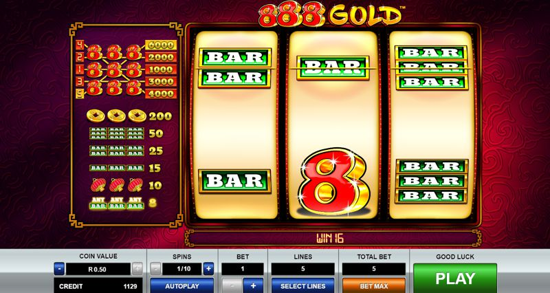 888 Gold Slot Game by Pragmatic Play