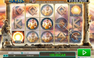 Apollo God of the Sun Slot from Leander Games