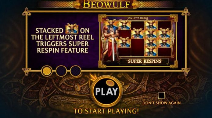 Beowulf Slot Game