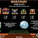 Hercules Son of Zeus Rules