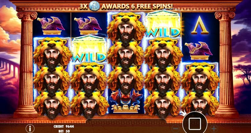 Hercules Son of Zeus Slot Review
