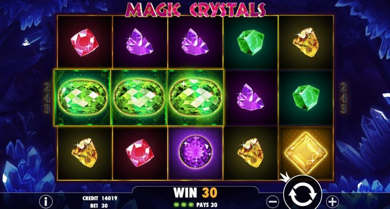 Magic Crystals Video Slot Review