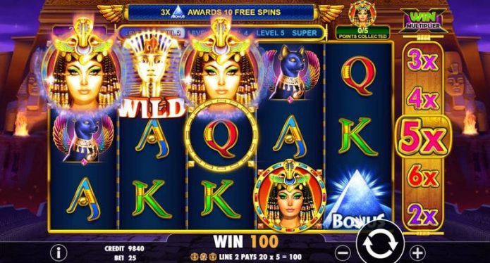Queen of Gold Slot Game