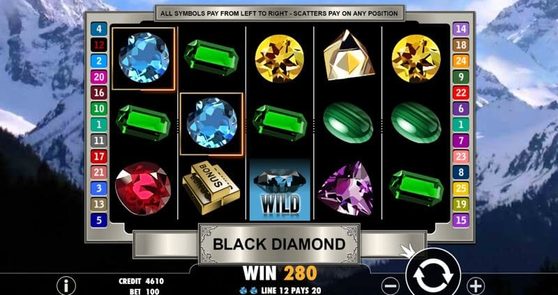 Black Diamond Slot from Pragmatic Play