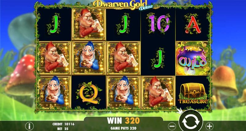 Dwarven Gold Deluxe Slot Game