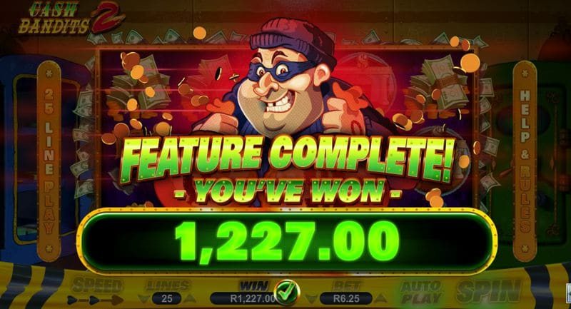 Cash Bandits 2 Video Slot Review