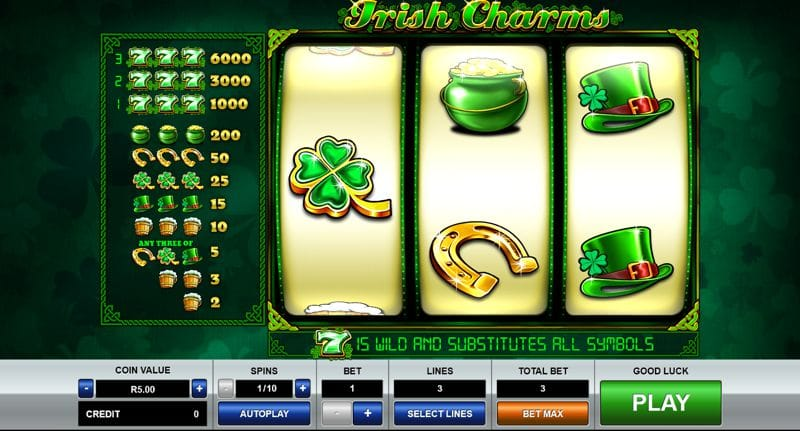 Irish Charms Video Slot Review