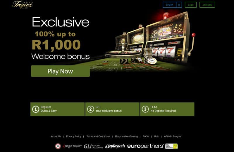 casino tropez sign up bonus