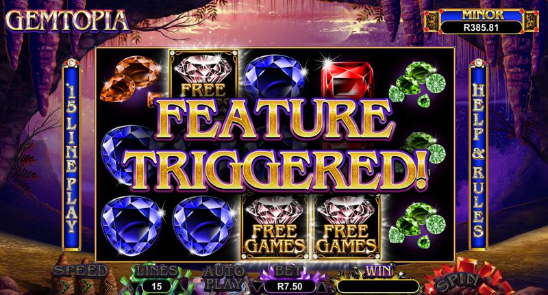 Get Your Gems on With New Gemtopia Slot Game