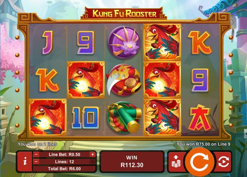 Kung Fu Rooster Slot Celebrates Year of the Rooster