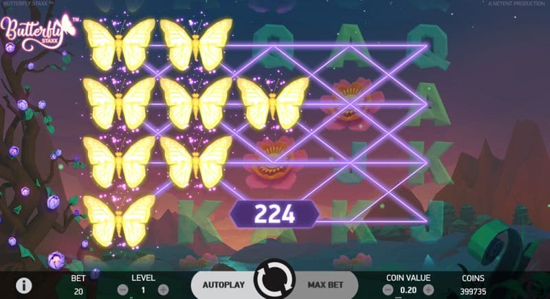 Butterfly Staxx Video Slot From NetEnt