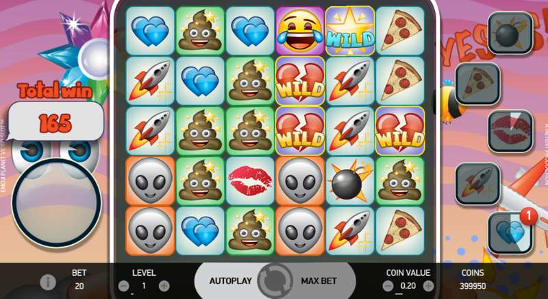 Emoji Planet Video Slot from NetEntertainment