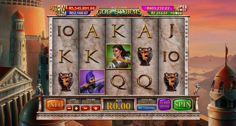 Age of the Gods – God of Storms Slot Review