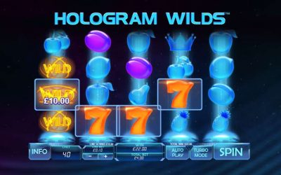 Hologram Wilds Video Slot Review
