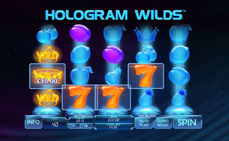 Hologram Wilds Slot Game