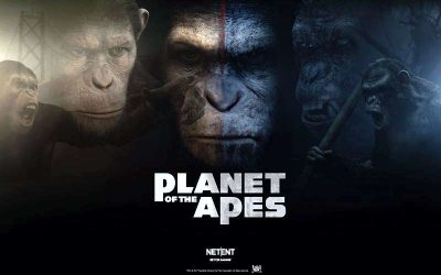 Planet of the Apes – a New Slot Game from NetEnt
