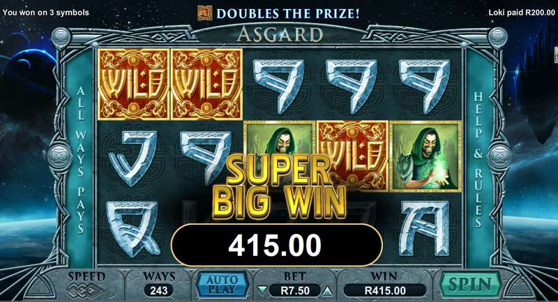 Asgard Video Slot Game
