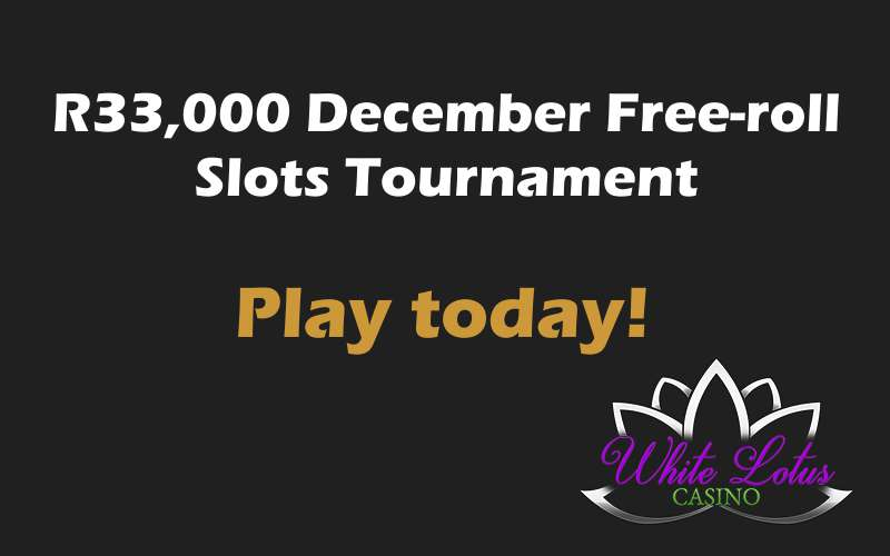 December Free-roll-Slots Tournament