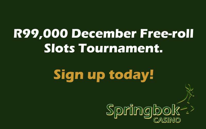 R99,000 Free-roll Slots Tournament