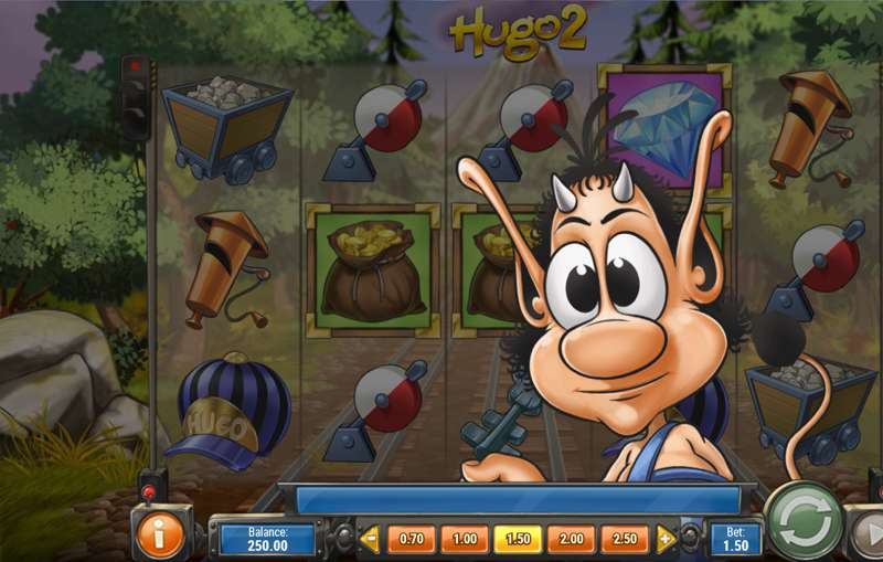 Hugo 2 Slot Game